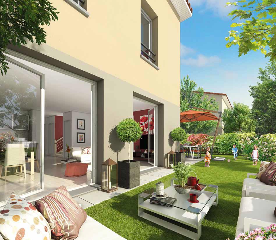 Magnifique logement neuf craponne 69290 2 pieces for Annonces immobilier neuf