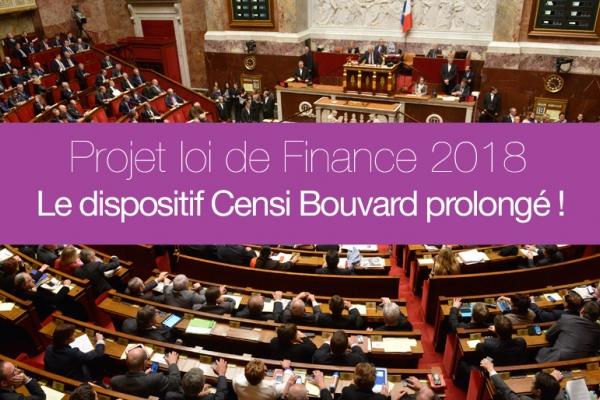 Amendement au PLF 2018 : le dispositif Censi Bouvard prolongé de 1 an !