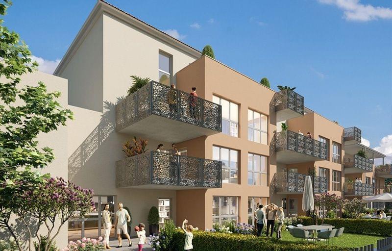 Programme immobilier neuf Jassans Riottier