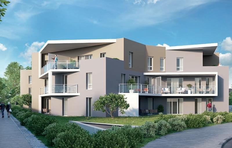 Programme immobilier neuf Saint Genis Pouilly