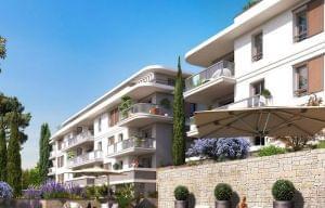 Plus d info sur la résidence Jardins des Sens et Domaine Jardins en vue à Mougins