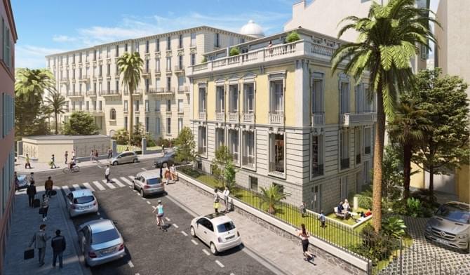 Investissement immobilier prestige Nice  livrable 2022 quartier Jean Médecin