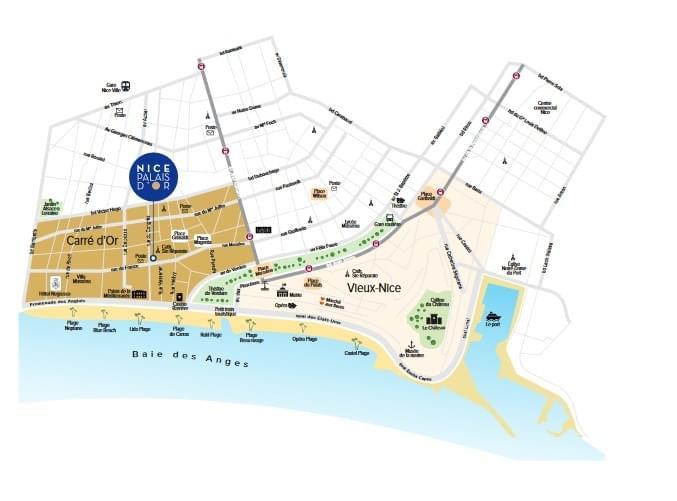 Résidence à Nice Quartier prisé, Résidence haut de gamme, 10 minutes de la gare TGV,