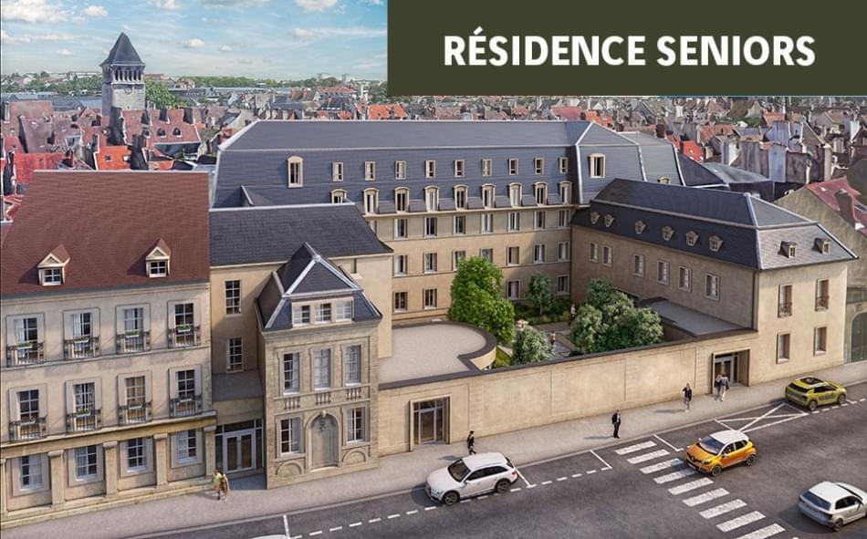 Résidence à Dijon Cadre intime et sécurisé, Proche centre ville, Jardins thématiques,