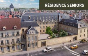 Plus d info sur la résidence Courtille sainte Marthe à Dijon