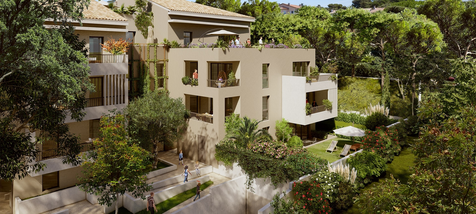 immobilier prestige Villeneuve-lès-Avignon Prêt à taux zéro (PTZ+) livrable 2023 quartier Résidentiel
