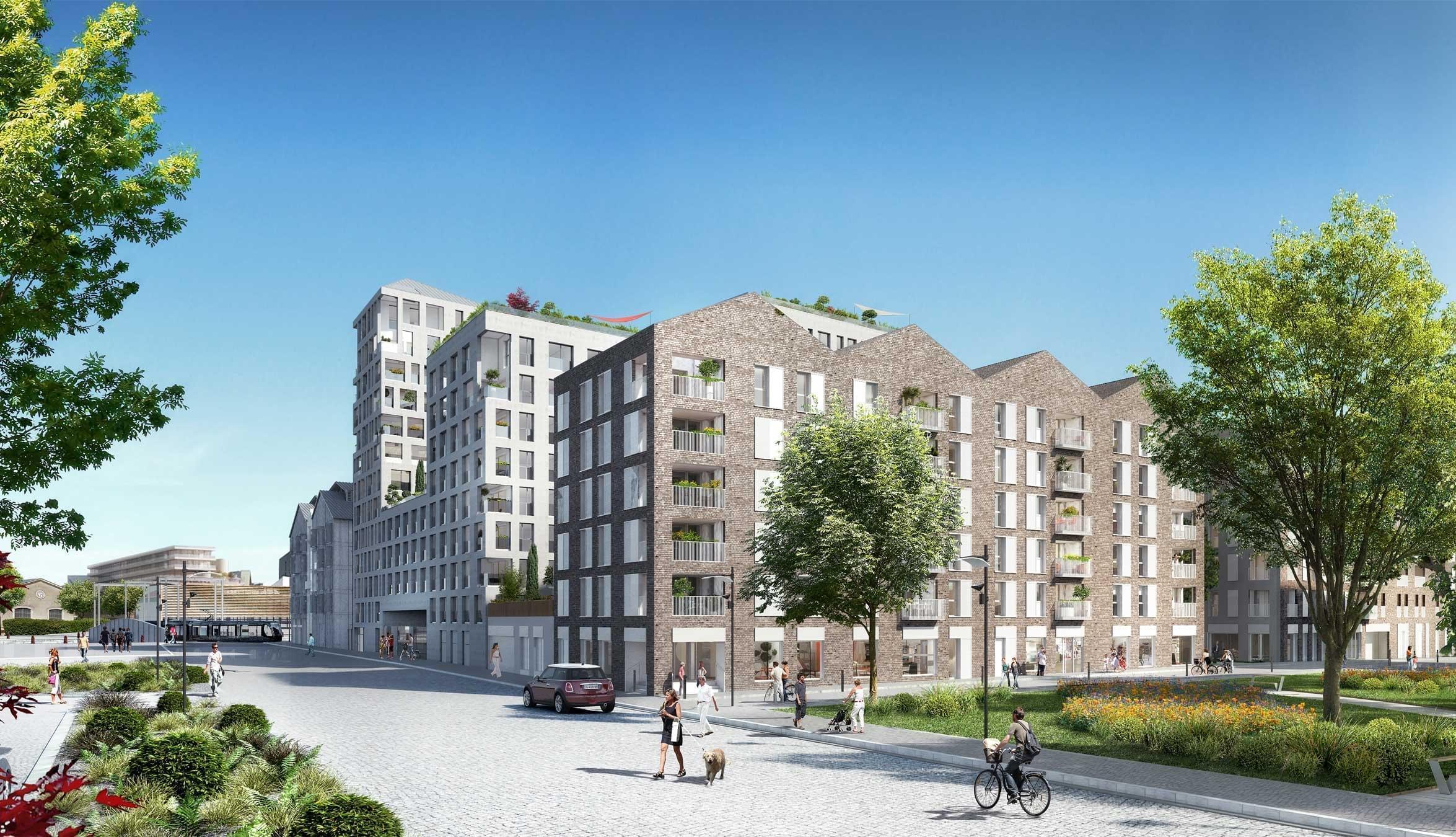 Investir dans un programme neuf pinel bordeaux avec for Investir appartement neuf