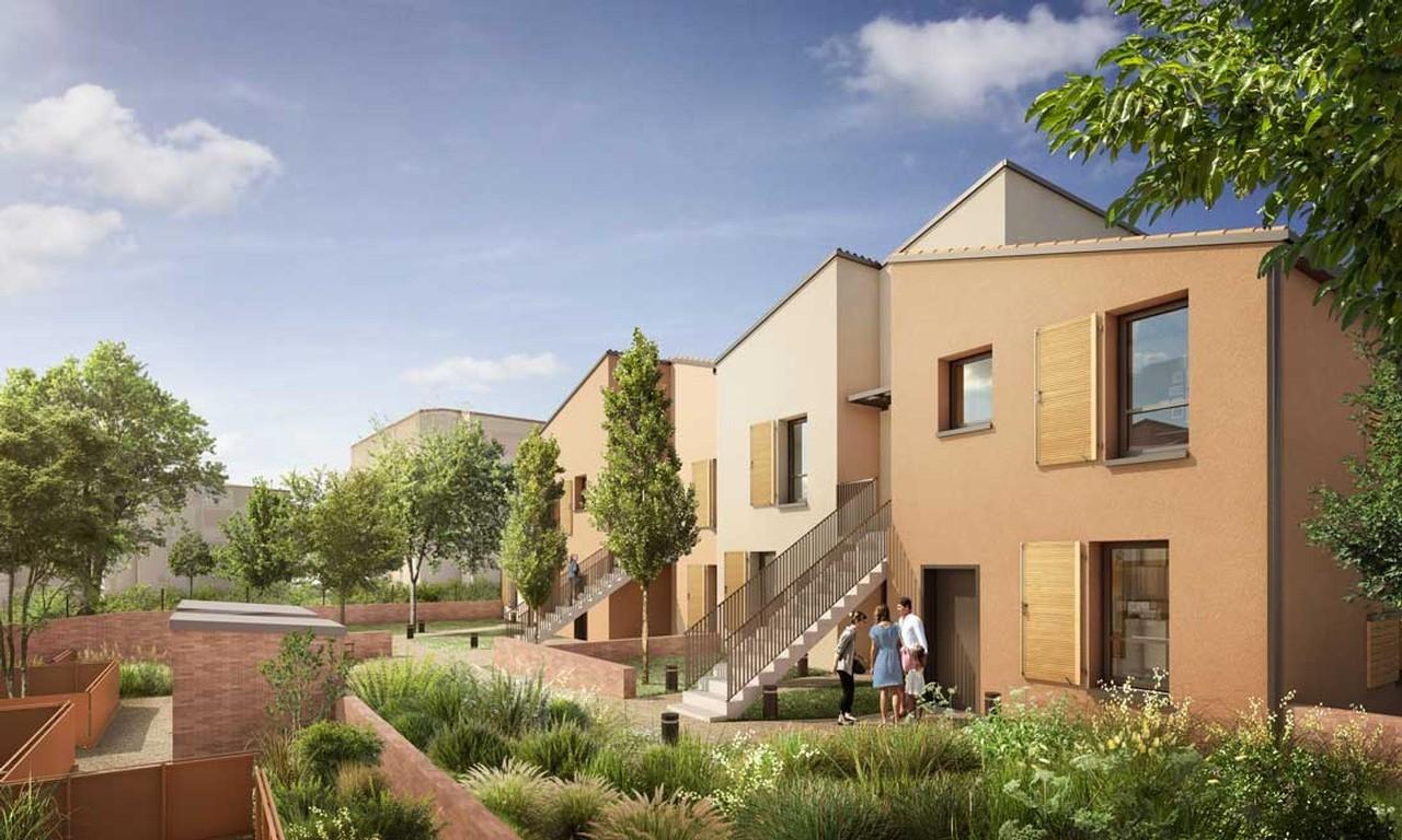 Résidence à Toulouse Environnement verdoyant , Résidence intimiste, Commodités à proximité,