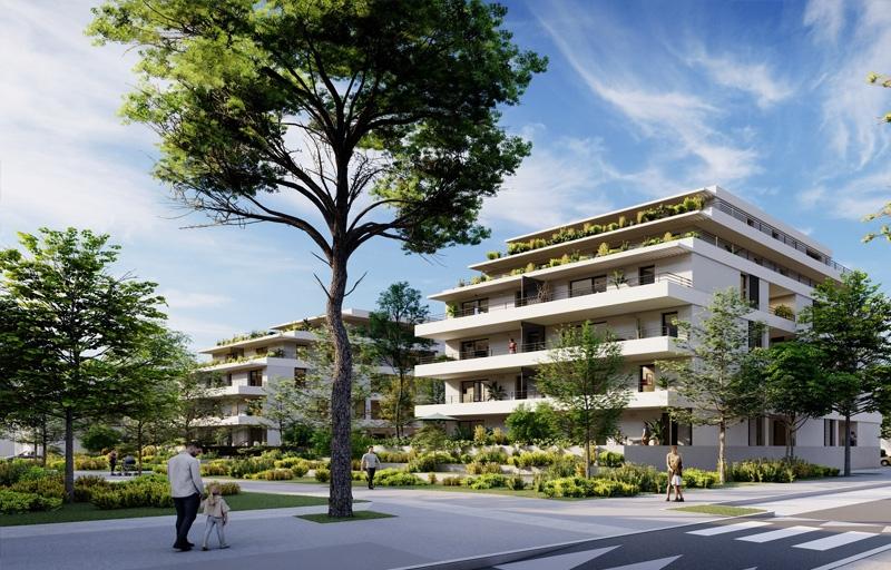 Résidence à Toulouse Proche du centre-historique, A 10 minutes à pieds des transports, Joli coeur d'ilot paysager,