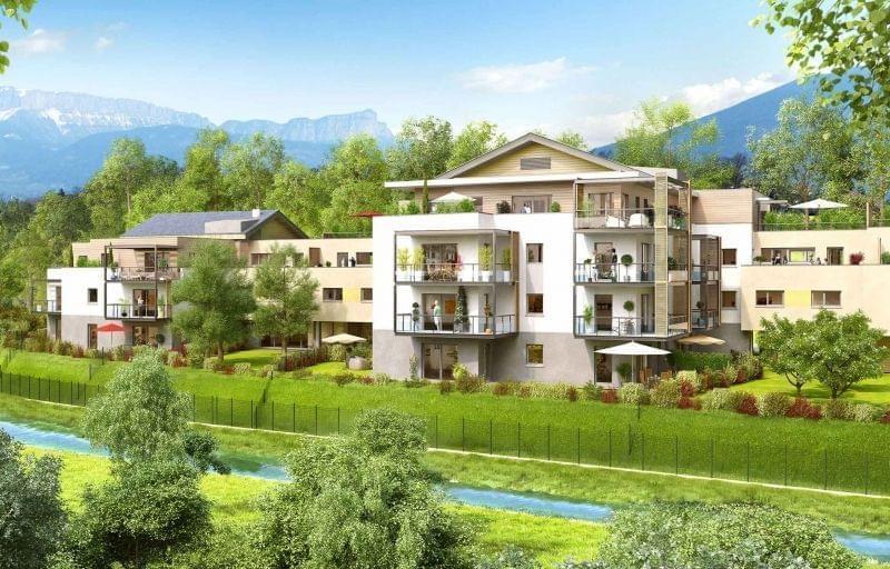 Immobilier neuf de standing Annecy-le-Vieux livrable 2017 : Domaine Florescence