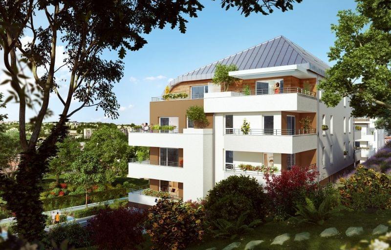 Investir à Annecy dans un appartement neuf avec Les Jardins du Chateau