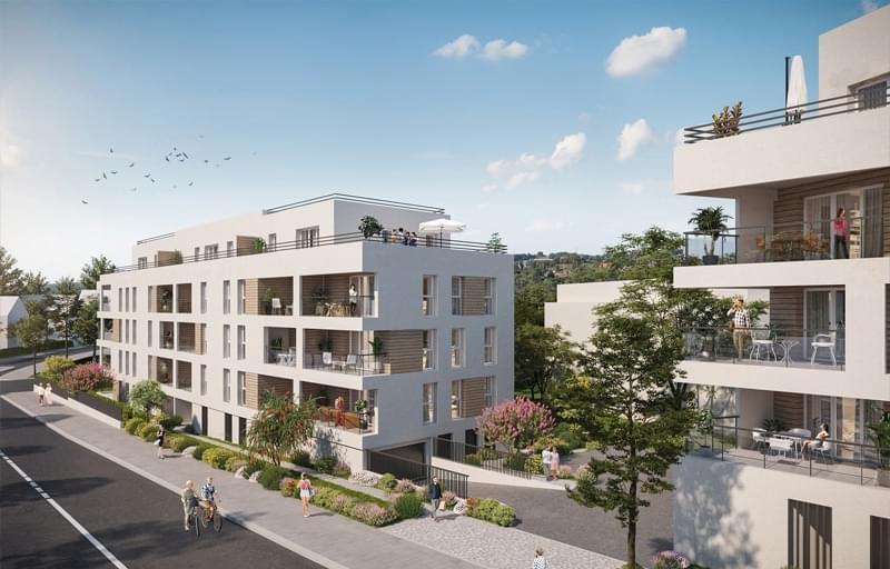 Trouver programme neuf Annemasse  livrable 2022 quartier proche Centre