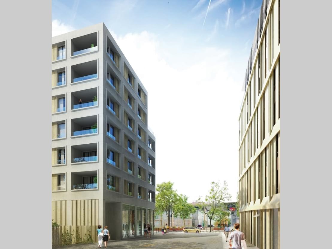 Trouver programme immobilier neuf Annemasse Prêt à taux zéro (PTZ+) livrable 2022 quartier Quartier de la Gare