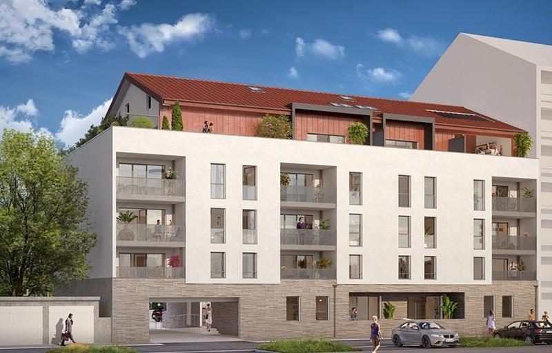 Résidence à Bonneville Centre-ville de Bonneville, Attiques disponibles !, Jolis espaces extérieurs,