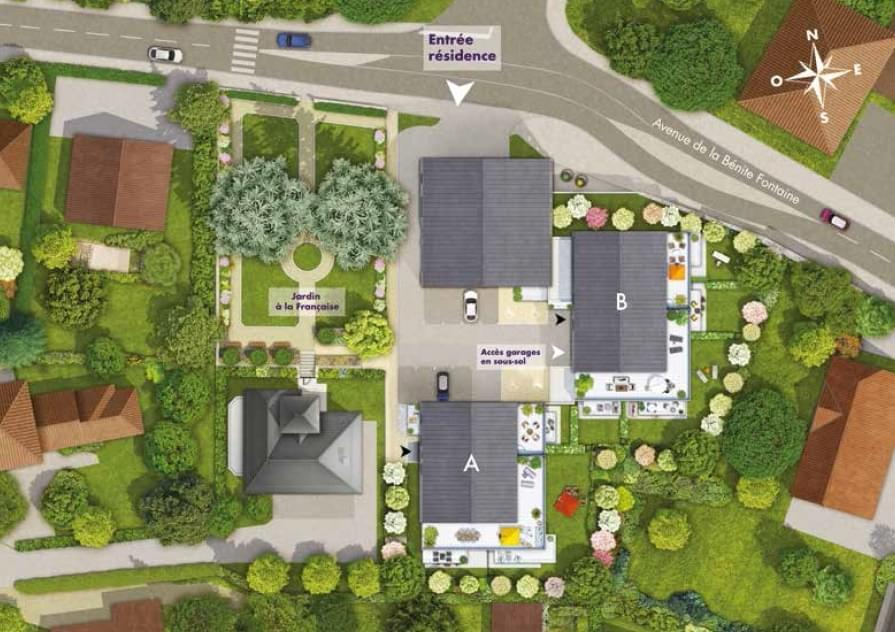 Résidence à La Roche-sur-Foron Résidence sécurisée, A 30 minutes de Genève en voiture, Appartements de grand standing,