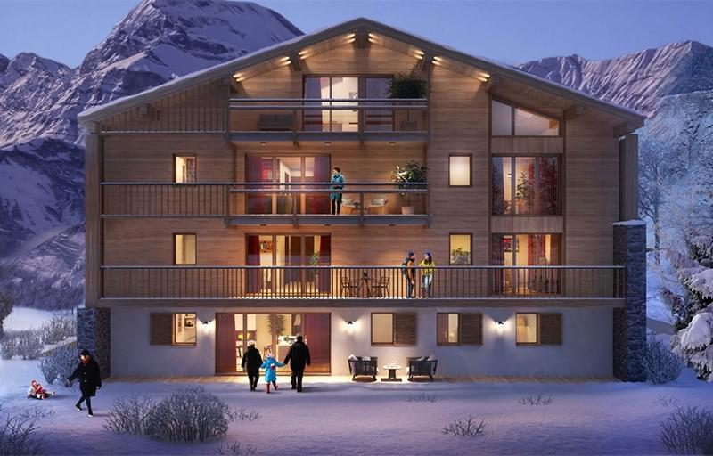 Résidence à Megève Appartements spacieux et confortables , Emplacement idéal proche de la Suisse et de l'Italie, Parc paysager,