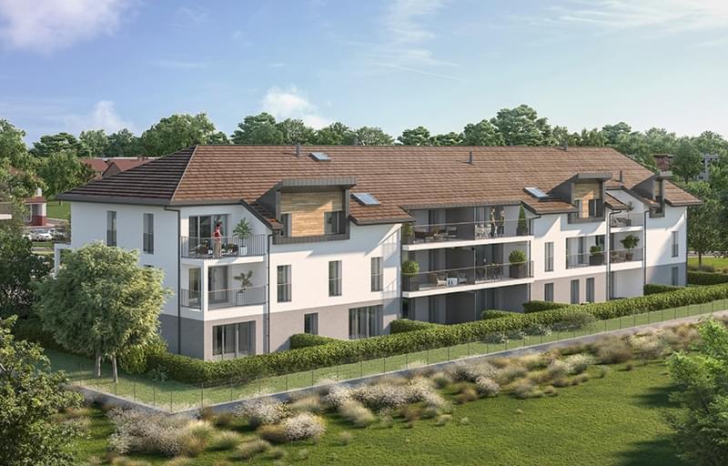 Résidence à Saint-Pierre-en-Faucigny Proche Genève, Commerces et écoles à proximité, Environnement calme, ,
