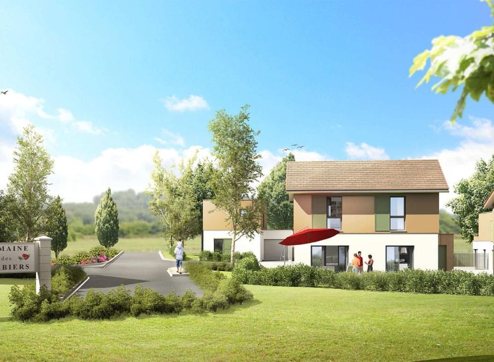 Maison neuve bbc haute savoie valleiry 74520 derni re villa disponible le domaine des sorbiers - Maison neuve bbc ...