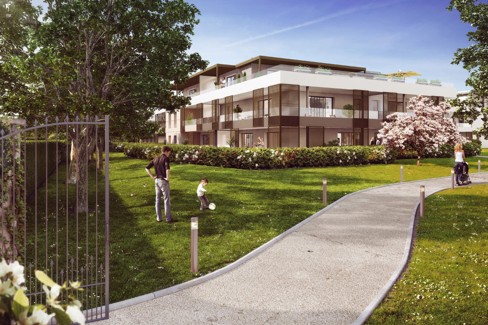 Immobilier neuf proche annemasse acheter pour louer for Acheter garage pour louer