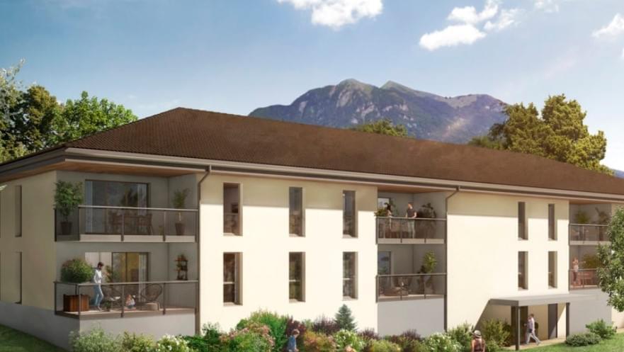 Résidence à Vougy Espaces extérieurs pour tous les logements, Finitions de qualité,