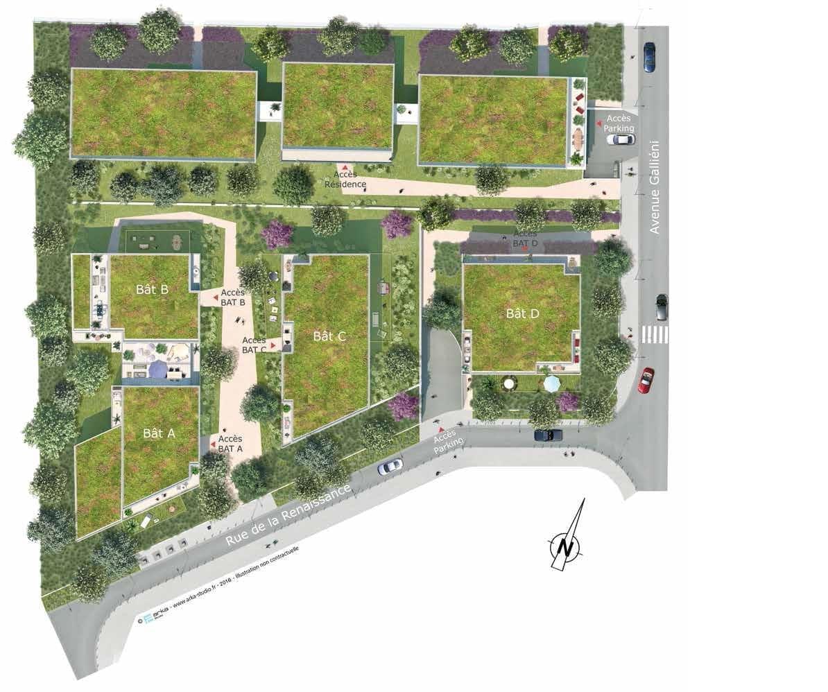 Résidence à Antony Logements 100% connectés, Ville en plein développement, Environnement végétal, , ,