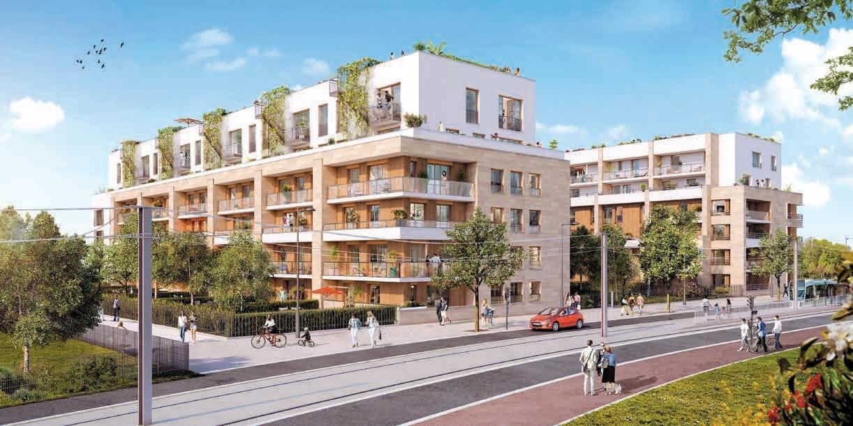 Programme immobilier neuf cologique et bbc meudon ramures for Immeuble ecologique