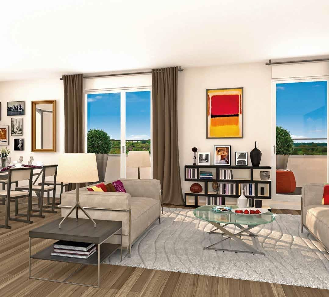 programme immobilier neuf rueil malmaison idylle. Black Bedroom Furniture Sets. Home Design Ideas