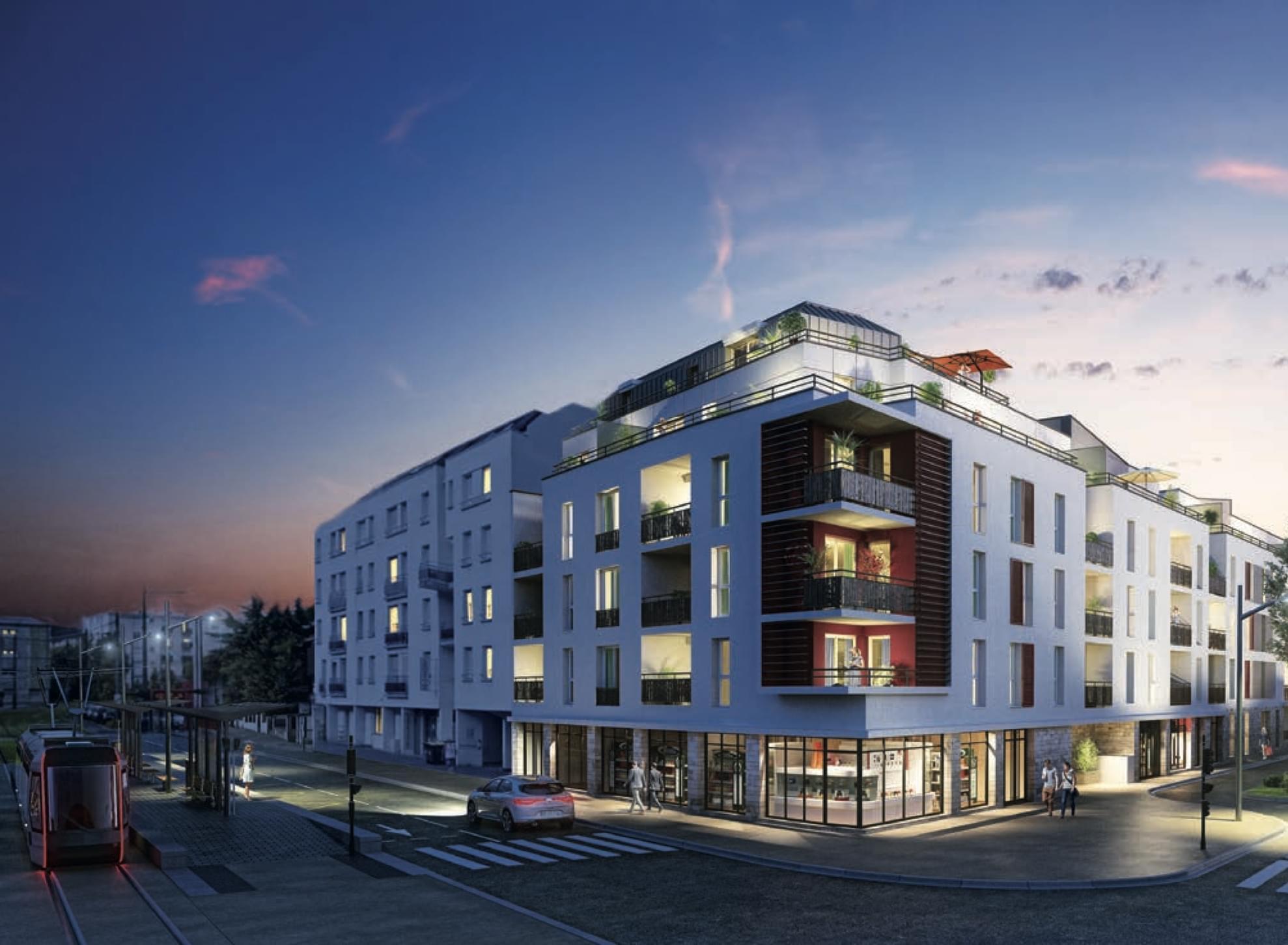 Investissement programme neuf  Prêt à taux zéro (PTZ+) livrable 2021 quartier Centre Ville