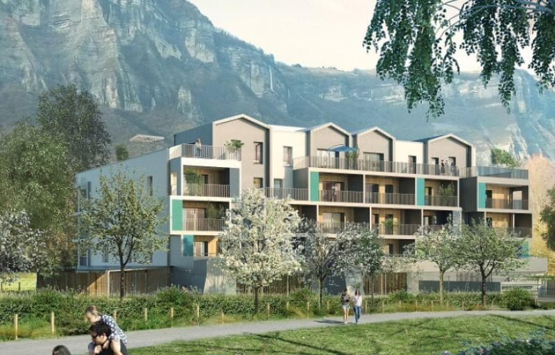 Programme immobilier neuf Crolles