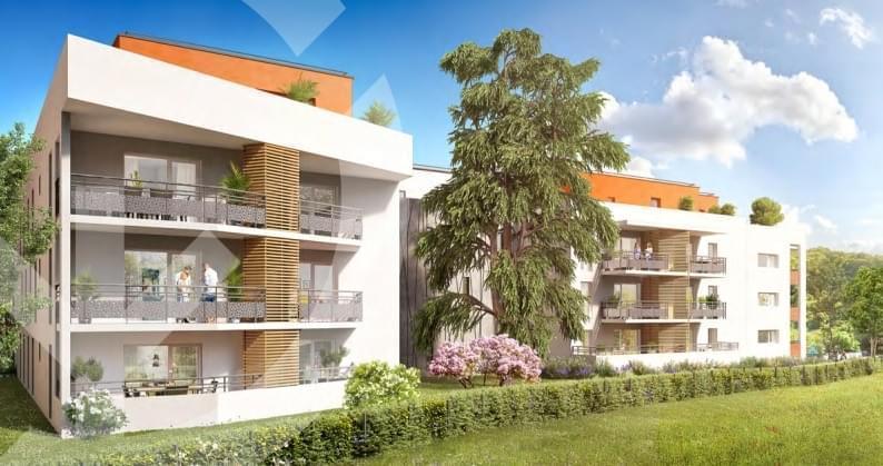 Résidence à Gières Université de Grenoble a seulement 5 minutes, Un cadre de vie verdoyant et intime , Résidence respectueuse de l'environnement,