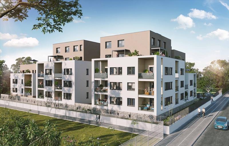 Résidence à Grenoble Accès direct au centre-ville, Environnement exceptionnel, Fort potentiel locatif,