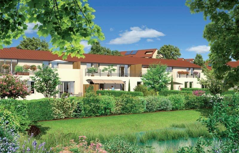Appartement neuf bbc l 39 isle d 39 abeau les coloriades for Piscine de l isle d abeau