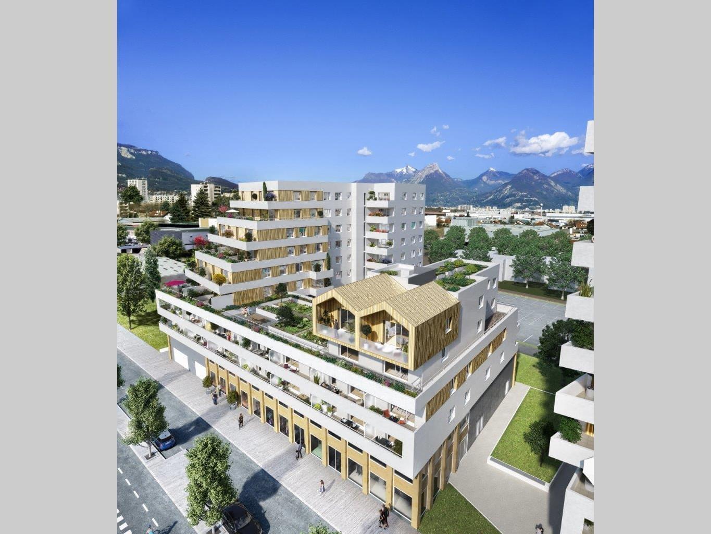 Résidence à Le Pont-de-Claix 20 min de grenoble, Toit avec terrasses, Tramway en bas de l'immeuble,