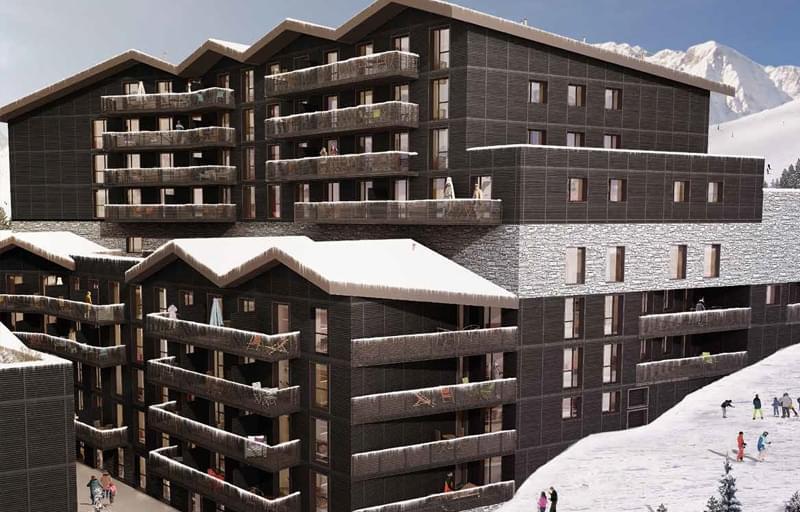 Trouver residence montagne    quartier Station de ski