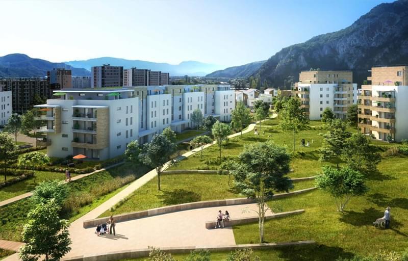 A saisir ! programme immobilier neuf Sassenage Prêt à taux zéro (PTZ+) livrable 2021 quartier Le Gua
