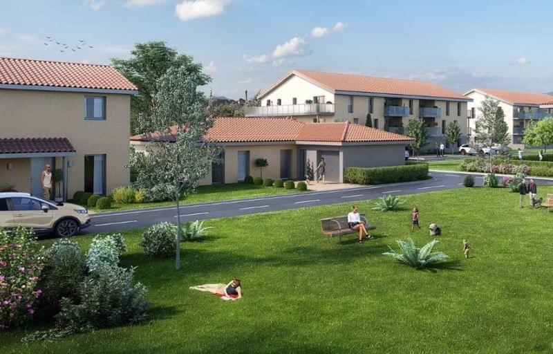 Immobilier neuf Villette-de-Vienne : maisons neuves à acheter sur Le Domaine des Poiriers