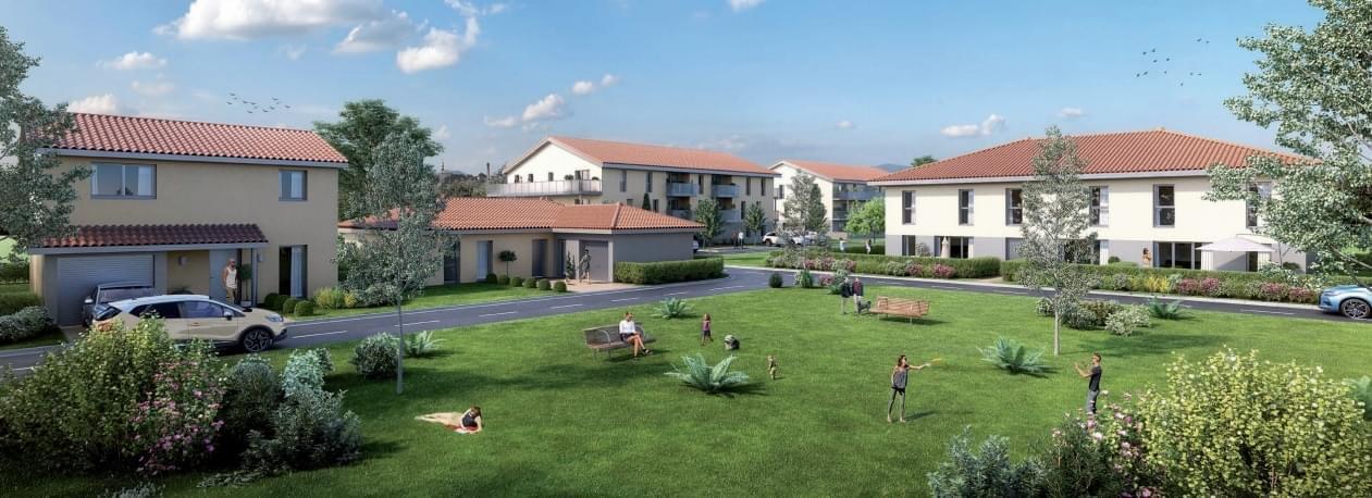 Résidence à Villette-de-Vienne Proche des grandes agglomérations, Vue sur le Pilat et les Alpes, Un environnement naturel à proximité de toutes les commodités,