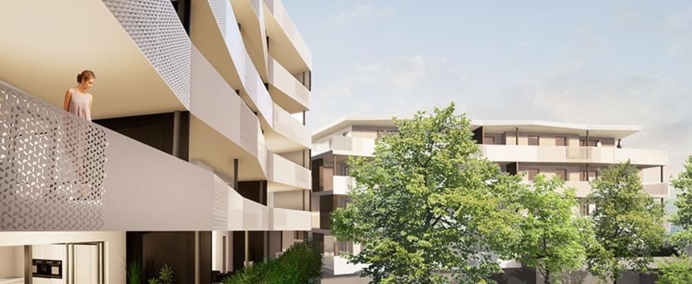 Résidence à Saint Etienne programme de standing avec de belles terrasses et piscine couverte en intérieur ,
