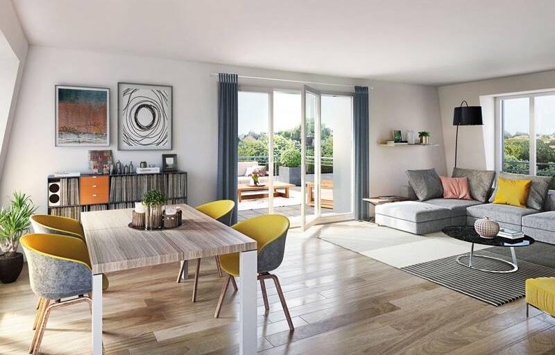 Investissement programme immobilier neuf Faches-Thumesnil Prêt à taux zéro (PTZ+) livrable 2022 quartier Cinq Bonniers