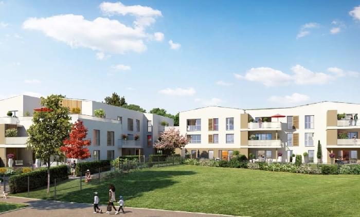 Résidence à Arnas A 5 km au nord de Villefranche-sur-Saône, Certains appartements sont prolongés par une    spacieuse terrasse multi-orientées., Proche du parc de Marverand,