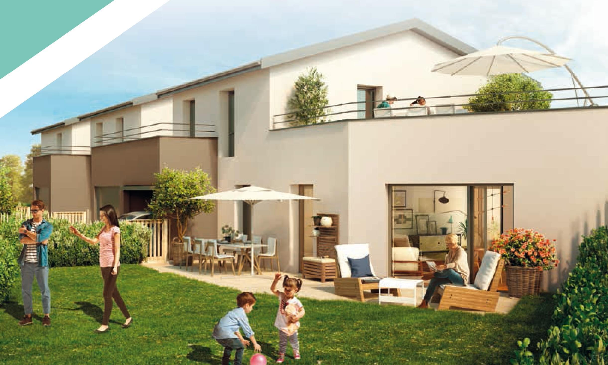 Résidence à Arnas Terrains piscinables, Calme et verdure, Fermé et sécurisé,