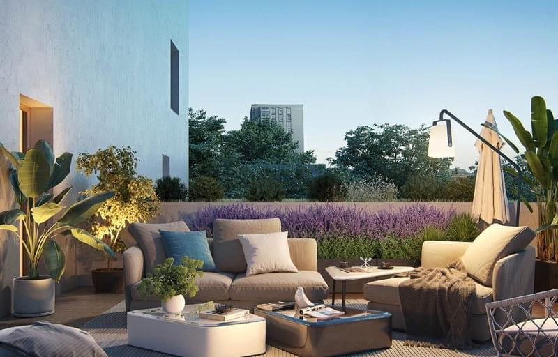 Résidence à Bron Balcons, loggias ou jardins, Proche commerces, Cadre de vie agréable,