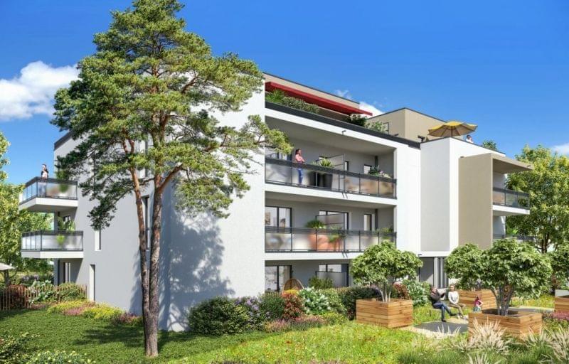 Plus d info sur la résidence Carré Ikebana à Caluire et Cuire