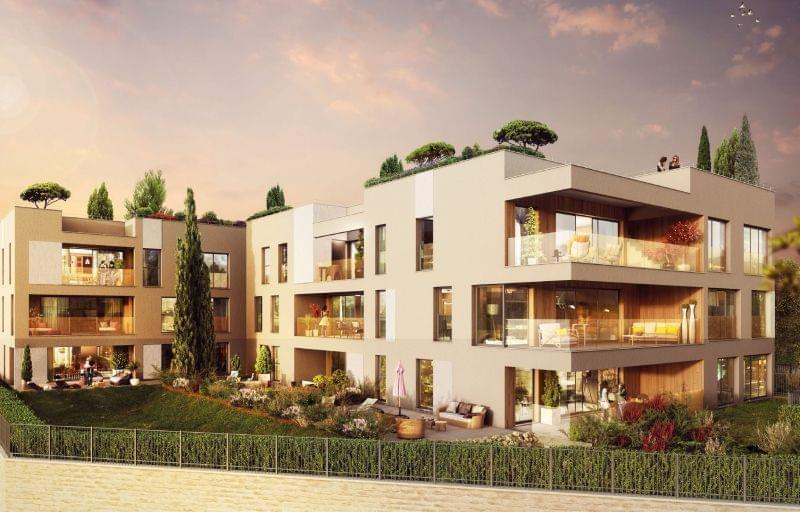 Recherche immobilier de Prestige à Lyon / Caluire : agence immobilière MCA, programme l'Orangerie