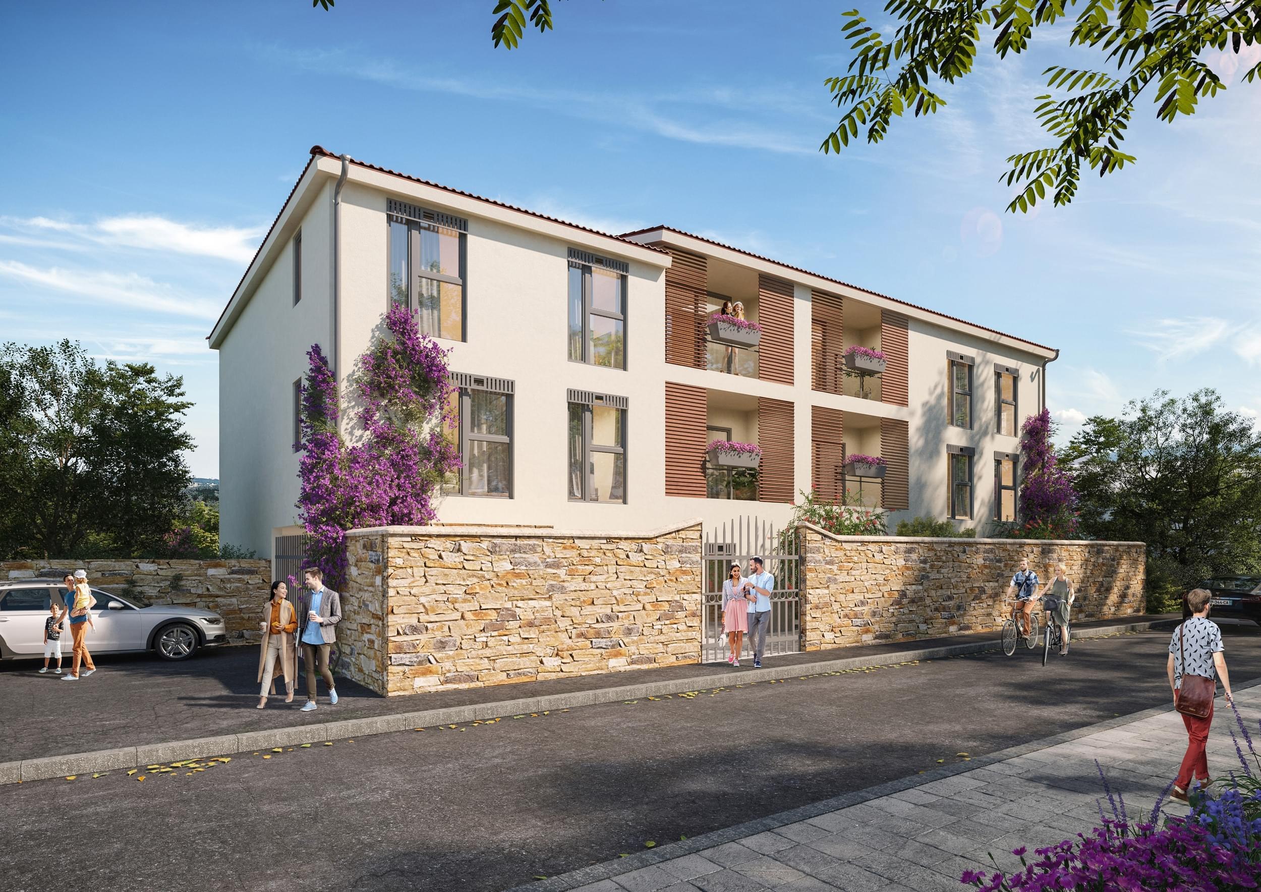 Trouver appartement neuf Couzon au Mont d'Or