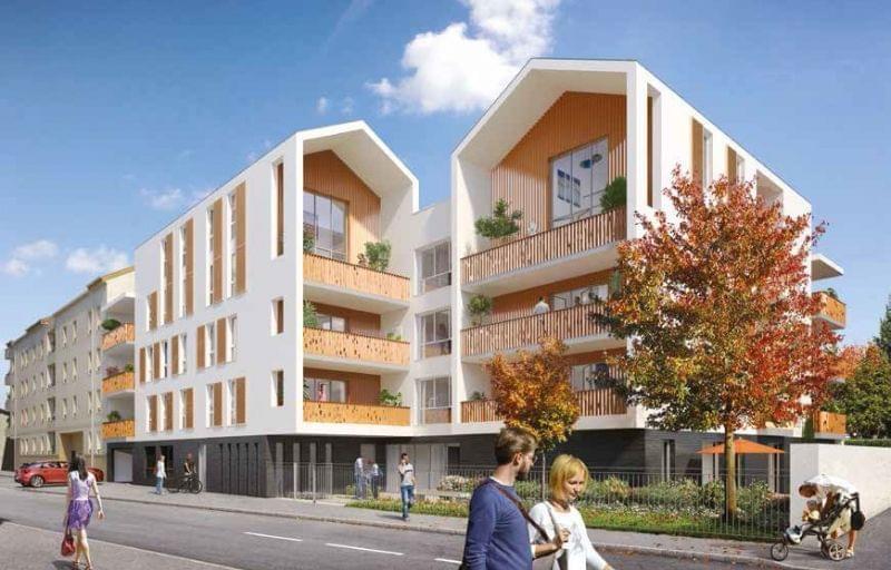 Achetez votre logement neuf Pinel à Décines centre avec la résidence Atelier République
