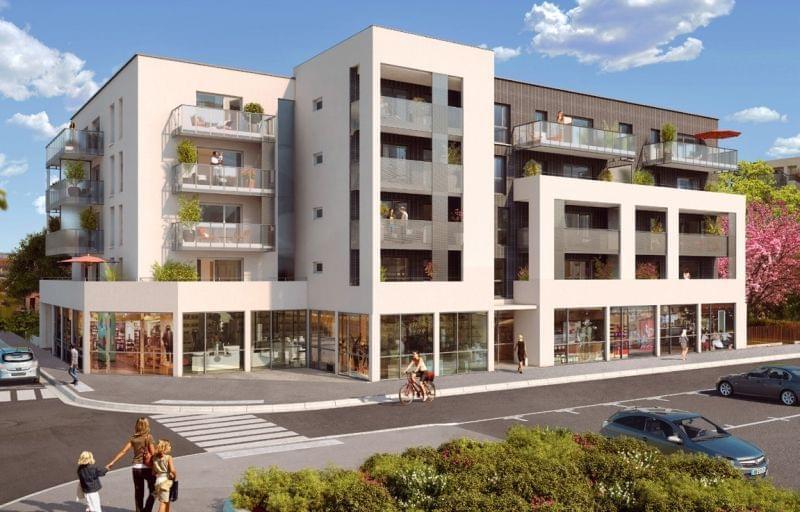 Retour à la vente ! Programme de 39 logement pinel à Decines Charpieu - Essenciel