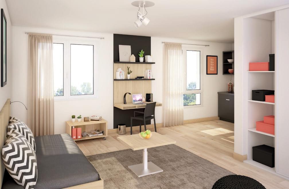 Investir en r sidence tudiante sur l 39 ouest lyonnais - Investissement chambre etudiant ...