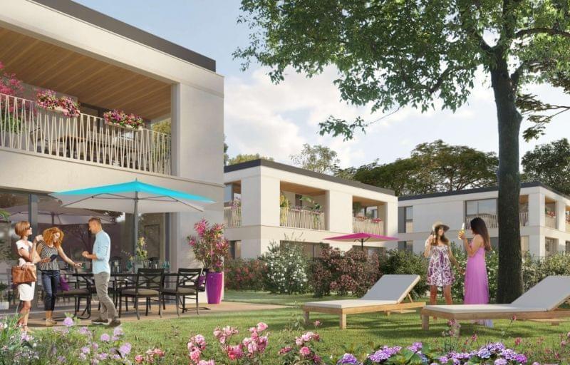 Plus d info sur la résidence Be Twin à Feyzin