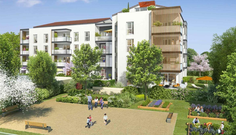Résidence à Francheville Jardin en cœur d'îlot, Résidence intimiste, Commerces et écoles proches,